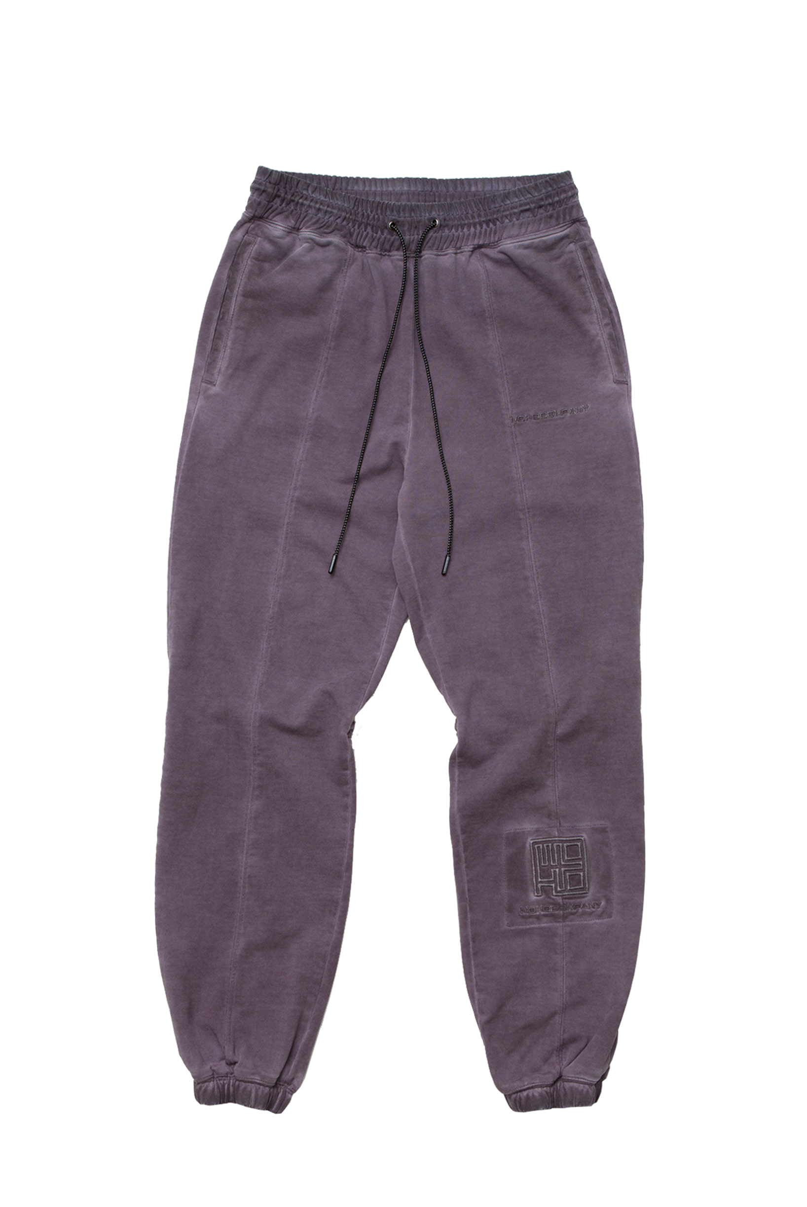 WASHED EFFECT LOUNGE PANTS (PURPLE)