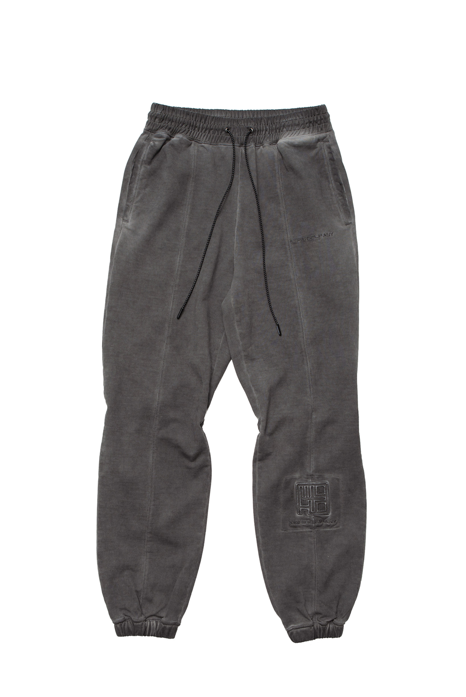 WASHED EFFECT LOUNGE PANTS (CHARCOAL)