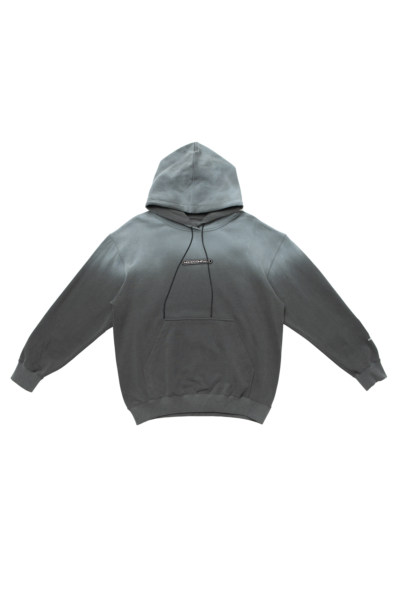SNOW GRADATION HOODIE (CHARCOAL)